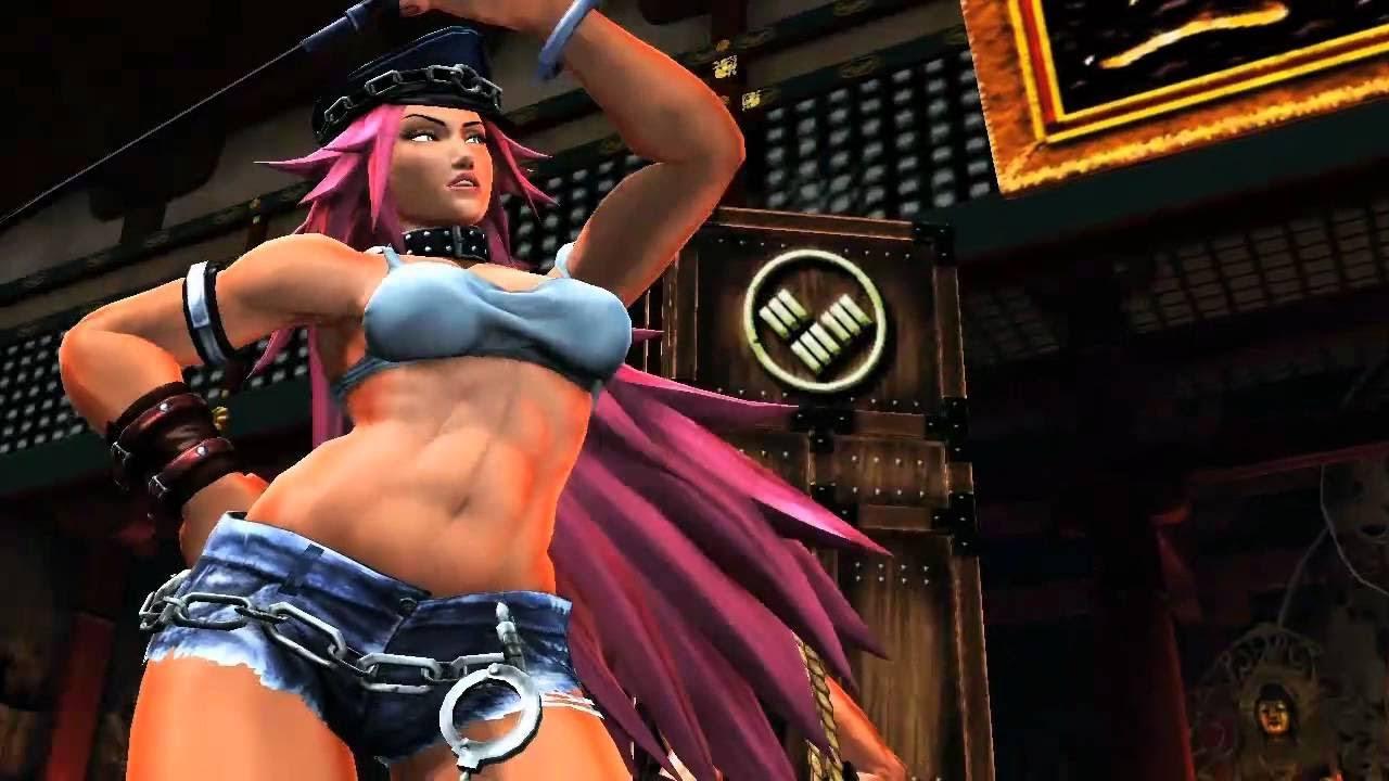 Street fighter nina porn