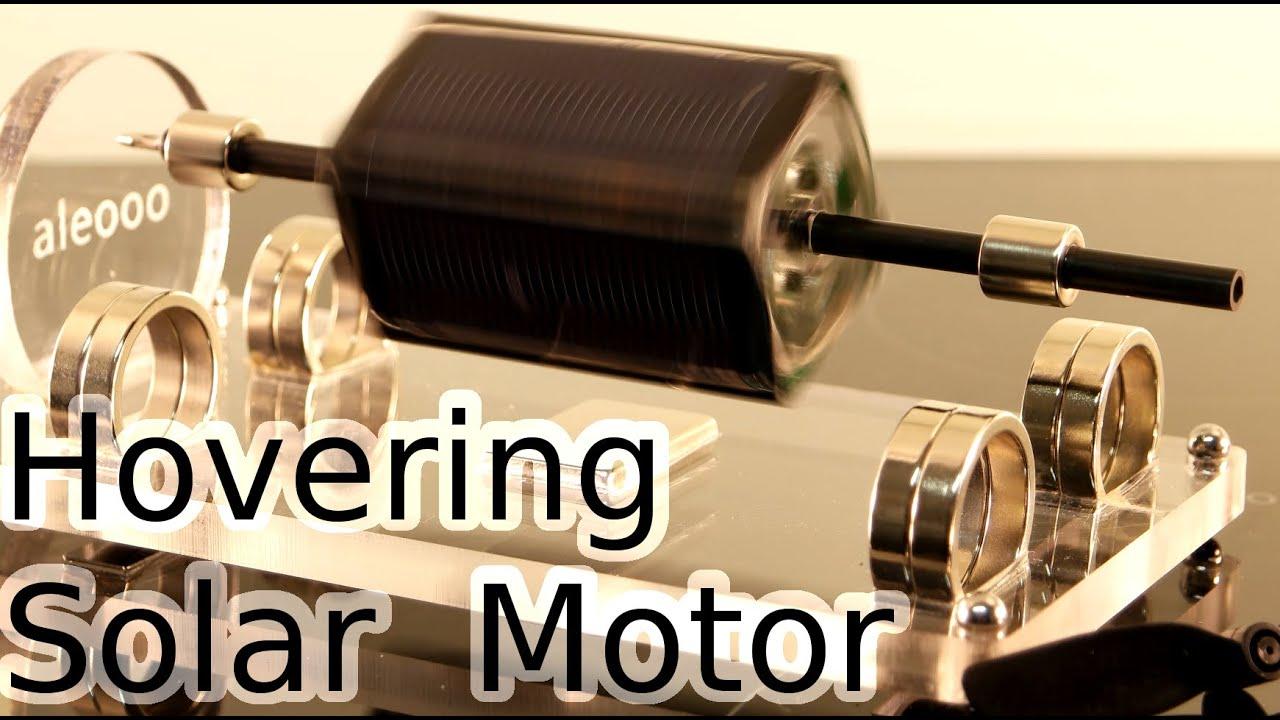 Mendosin brushless magnetic levitation solar motor 85