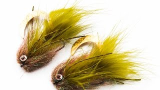 Fly Tying instruction on how to tie the: Wiggle trout bulkhead