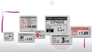 Altierre E Ink Electronic Shelf Labels at the IDTechEx Show!