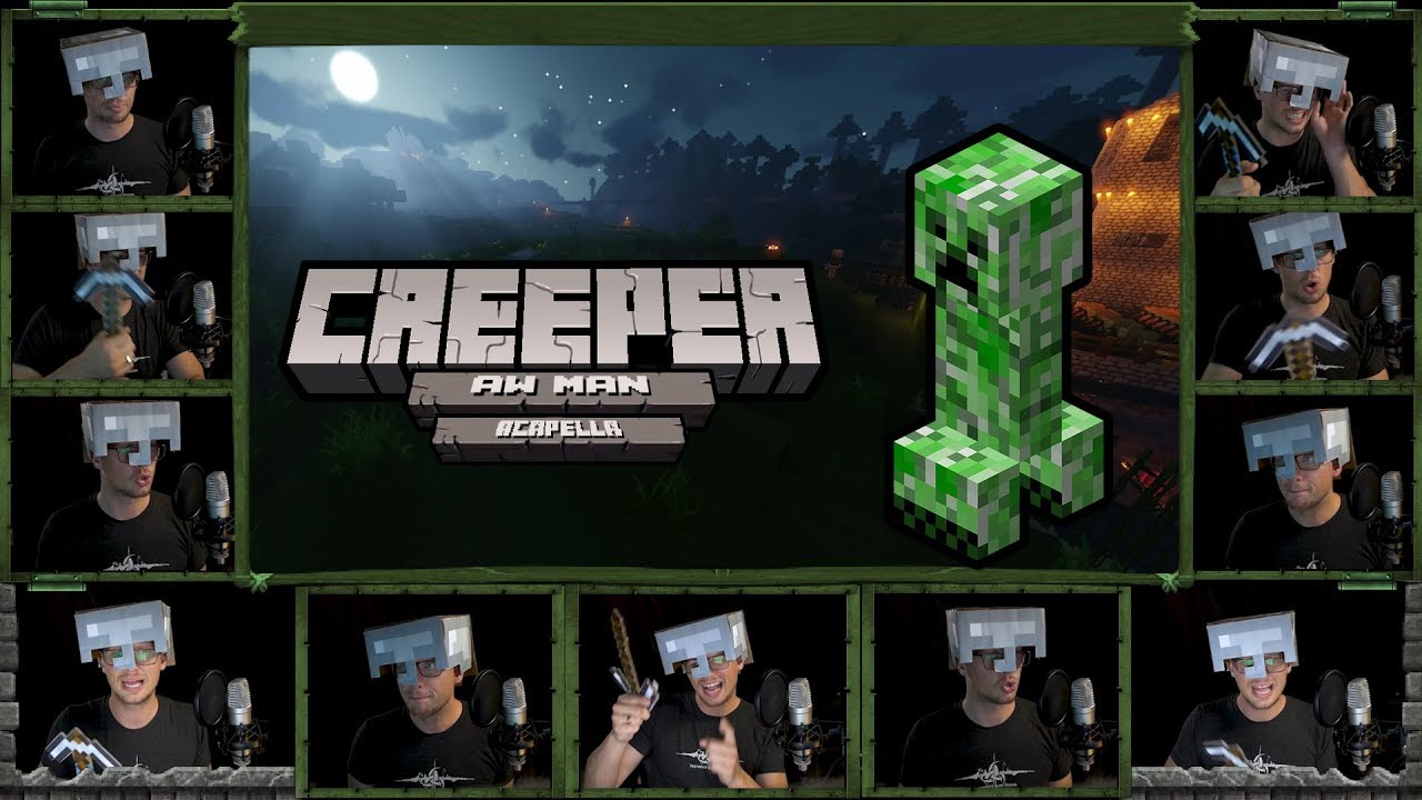 """Creeper? Aw Man but its an Acapella Cover (""""Revenge"""" Lyric Video)"""