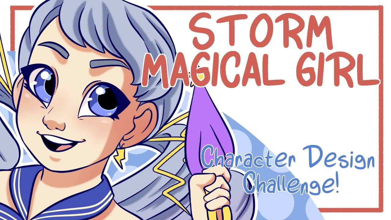 Storm magical girl character design challenge character aesthetic generator