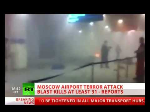 Terrorist Attack At Moscow Air Port 1