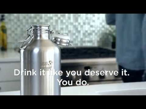 Klean Kanteen - How to Use Your Klean Kanteen Growler