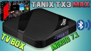 Новый ТВ Бокс Tanix TX3 Max полный обзор. Лучший Android TV Box за 40$