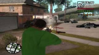 GTA San Andreas - Me VS. Police