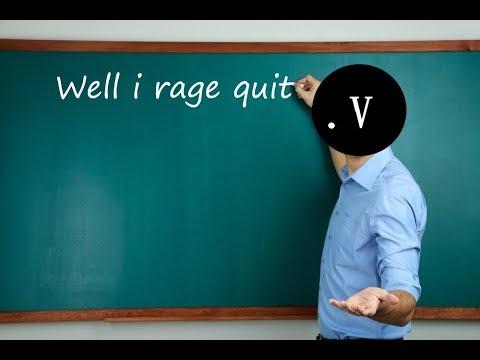 I rage quit Re-legion |