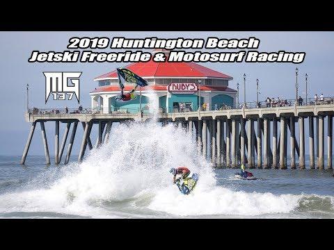 Huntington Beach Jetski Freeride & Motosurf Racing 2019 Mark Gomez