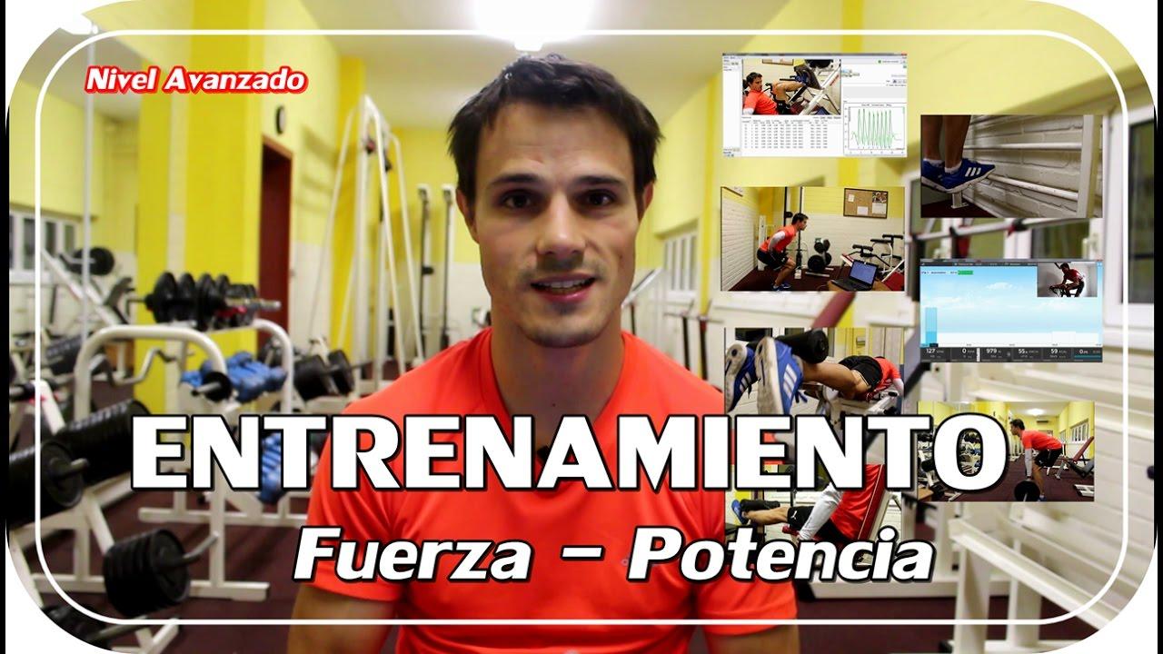ENTRENAMIENTO FUERZA - POTENCIA para ciclismo (NIVEL