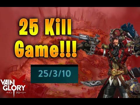 25 KILL WP VOX GAME!!! Vainglory 5v5