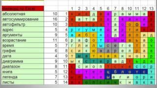 видео Иллюстрированный самоучитель по Microsoft Excel