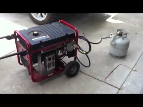 Propane Conversion For Generator. Tri Fuel Kit.   YouTube