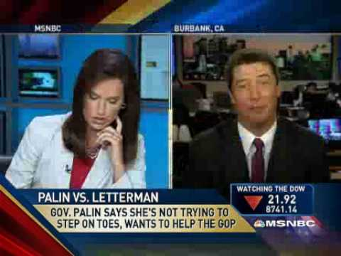 John Ziegler Destroys Contessa Brewer About The Letterman/Palin Controversy