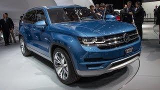 Volkswagen Crossblue Concept 2013 Videos