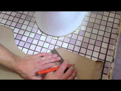 Installing a water resistant floor in just a few hours. By How-to Bob