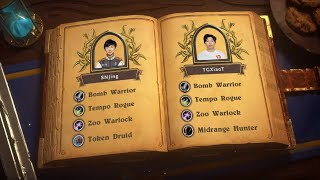 SNJing vs TGXiaoT – Group A Decider – 2019 HCT World Championship