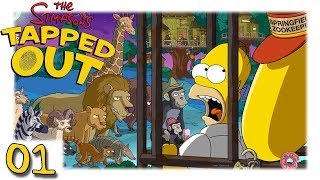 TSTO - Simpsons - Springfield - Tapped out - Moes Arche #01 [Let's Play HD Deutsch]