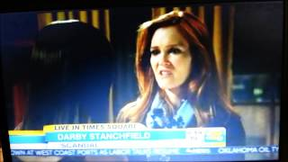 Darby Stanchfield on GMA 11.11.2014