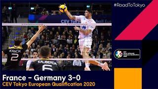 RoadToTokyo Final France Germany 3 0 Highlights