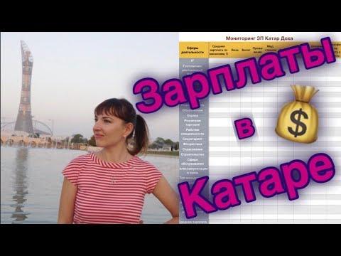 видео: Зарплаты в Катаре. Мониторинг заработных плат по должнстям и сферам деятельности. Salaries in Qatar.