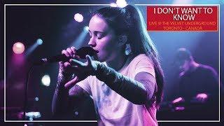 Sigrid - I Dont Want To Know  Ao Vivo No The Velv
