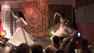 "Maya Devi & Neha Singh-dancing Sufi Qawwali song ""khwaja mere khwaja"""