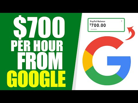 Earn $700 Per Hour FOR FREE FROM GOOGLE (Make Money Online 2021)