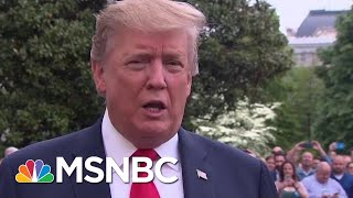 En Route To NRA Event, President Donald Trump Remarks On McGahn, Warmbier, 2020 Dems | MSNBC
