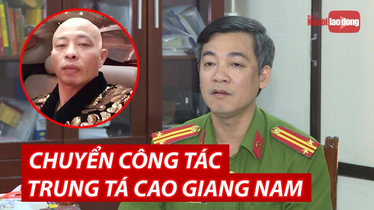 """Vụ Đường """"Nhuệ"""": Chuyển công tác Phó Trưởng Công an TP Thái Bình"""