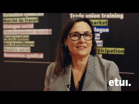 Interview Montserrat Mir Roca, ETUC Confederal Secretary
