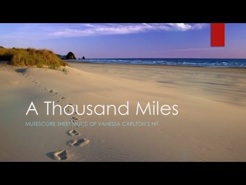 A Thousand Miles Instrumental Sheet Music