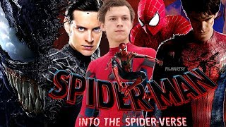 Spider-Man: Into the Spider-Verse | Live Action Trailer | Tobey Maguire, Andrew Garfield,Tom Holland
