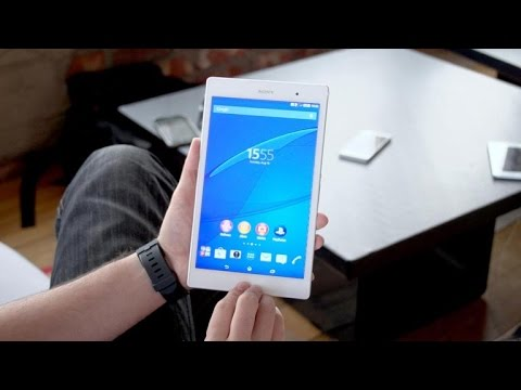 Sony's Xperia Z3 Tablet Compact is waterproof fun (hands-on)