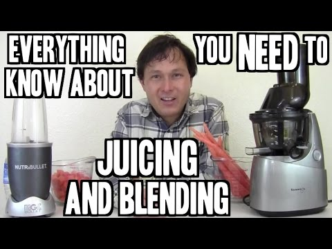 Everything You Need to Know about Juicing and Blending to Lose Weight