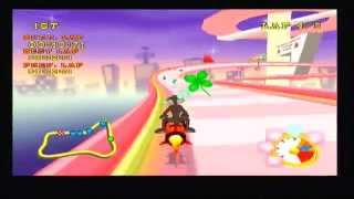 Looney Tunes Space Race PS2 Gameplay
