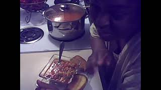 Hearty Beef, Chicken & Vegetable Soup!  Yum-o!.wmv