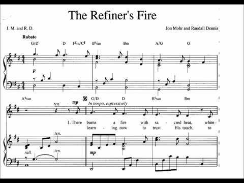 The Refiners Fire Accompaniment Youtube