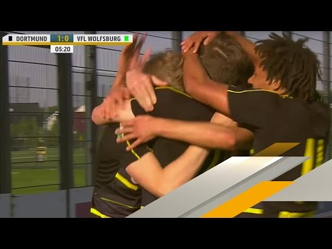 LIVE | Borussia Dortmund - VfL Wolfsburg | U19-Bundesliga Halbfinale - Rückspiel