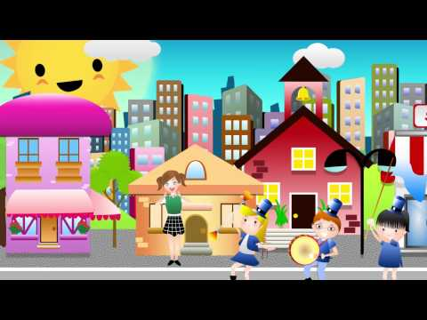 WHEN THE SAINTS GO MARCHING IN | Nursery Rhyme Express | Animation | Sing Along | Childrens Song