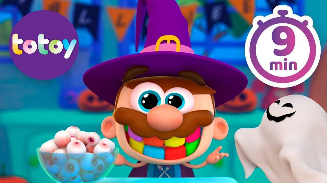 Cuentos Infantiles Totoy kids - 9 Minutos de Halloween de Jose Comilon!! En Español Completo