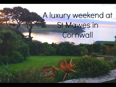 Our luxury weekend at St Mawes in Cornwall