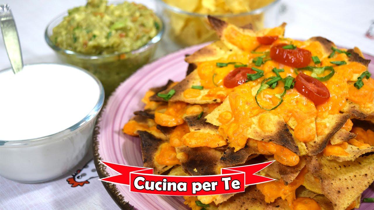 Ricetta Nachos Messicani.Muchos Nachos Snack Messicano La Ricetta Velocissima Youtube