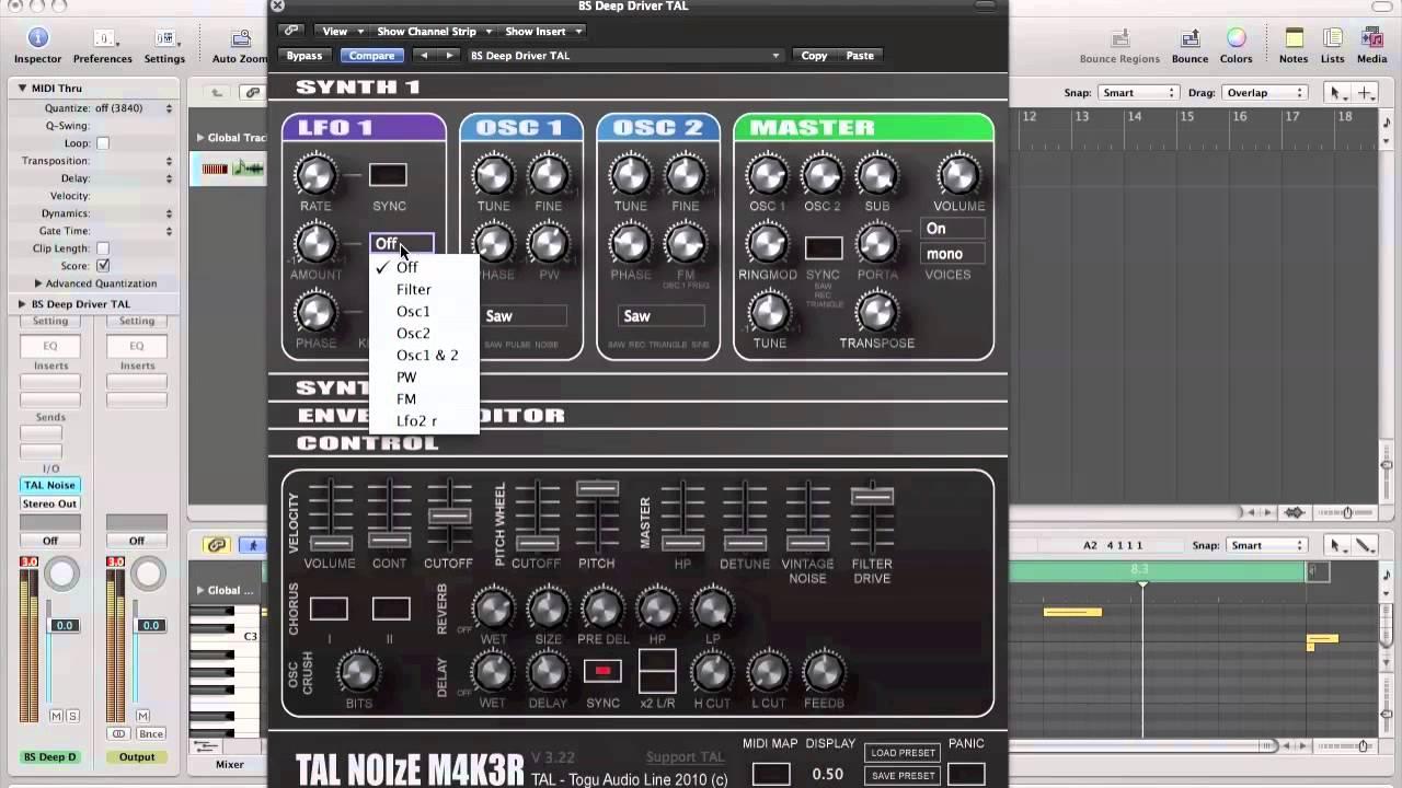 Free Plugins: TAL Noisemaker