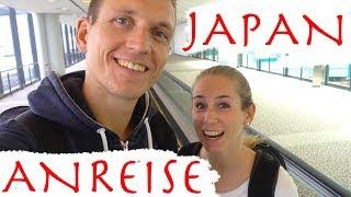 Japan Camping Start • Die Anreise nach Tokio   VLOG #340