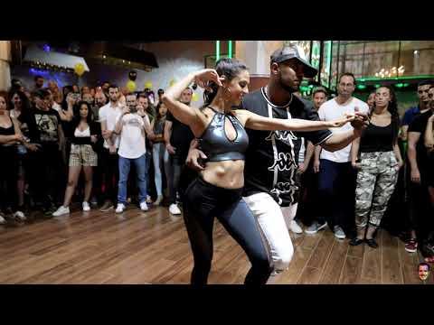 Frank Santos And Paz @Sensual Bachata Dance Demo [Entre Los Dos]