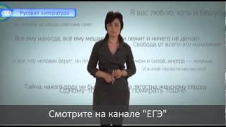 Анонс видеокурса. ЕГЭ по литературе