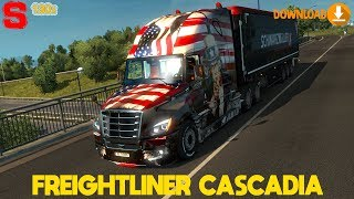 "[""Euro Truck Simulator 2"", ""Ets2.lt"", ""Ets2"", ""SIMoN3"", ""Subscribe"", ""Like"", ""mod"", ""american truck"", ""cascadia"", ""freightliner"", ""freightliner cascadia"", ""1.30x"", ""2018"", ""Freightliner cascadia 2018"", ""Mr. GermanTruck"", ""Truck"", ""modding"", ""truck mod"", """