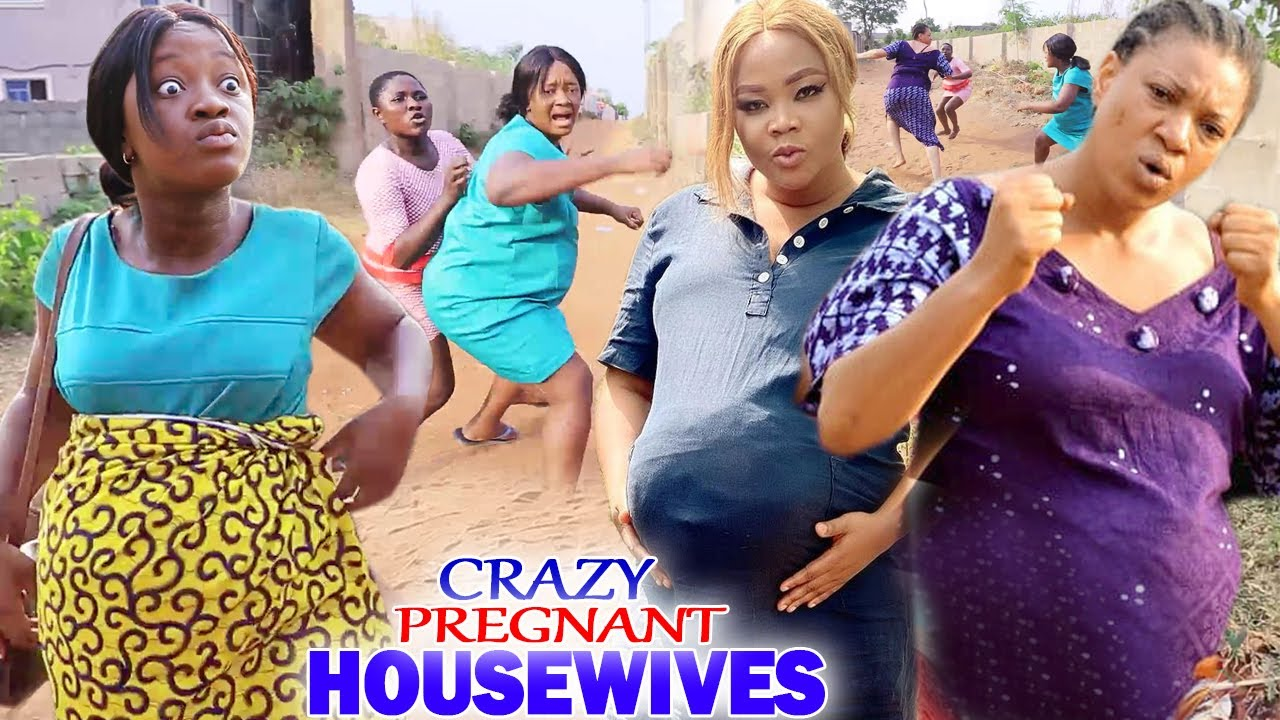 """Download Crazy Pregnant Housewives """"New Movie"""" 1&2-Luchy Donalds/Queeneth Hilbert 2021 Nigerian Movie"""