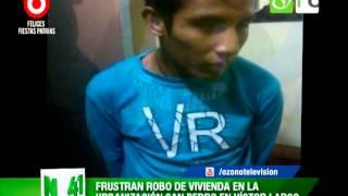 Frustran robo de vivienda en la urbanización San Pedro en Víctor Larco - Trujillo