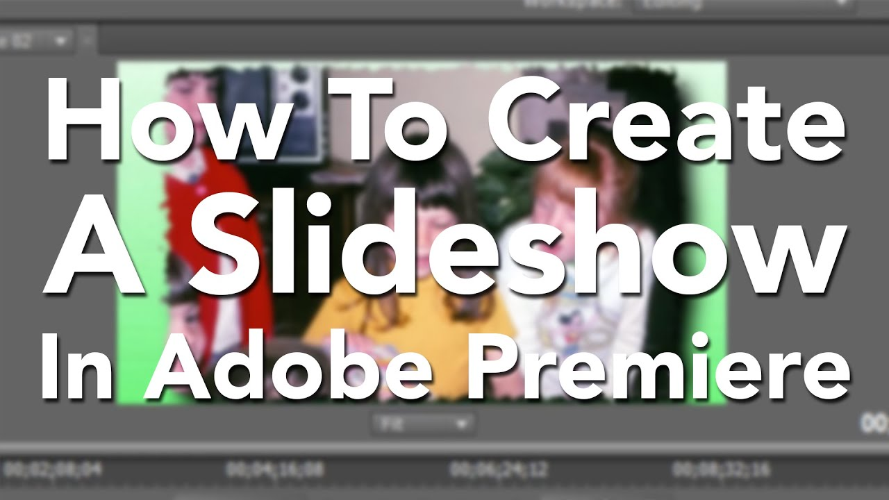 you tube how to create a slide show